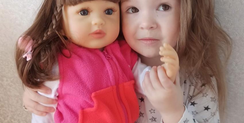 Красивая реалистичная кукла бренда NPK - отзыв покупателя
