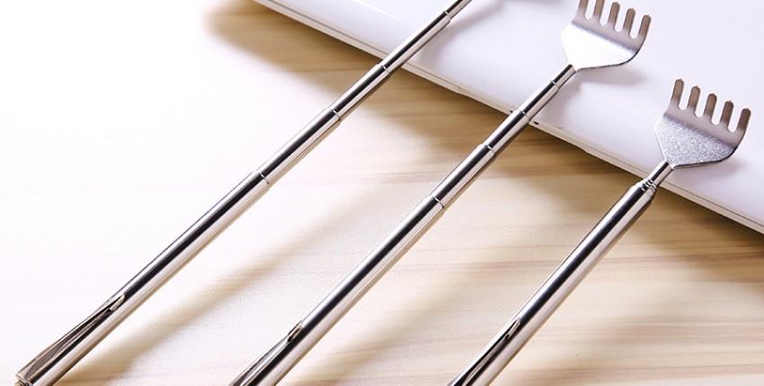 Массажная чесалка для спины из нержавеющей стали - отзыв покупателя