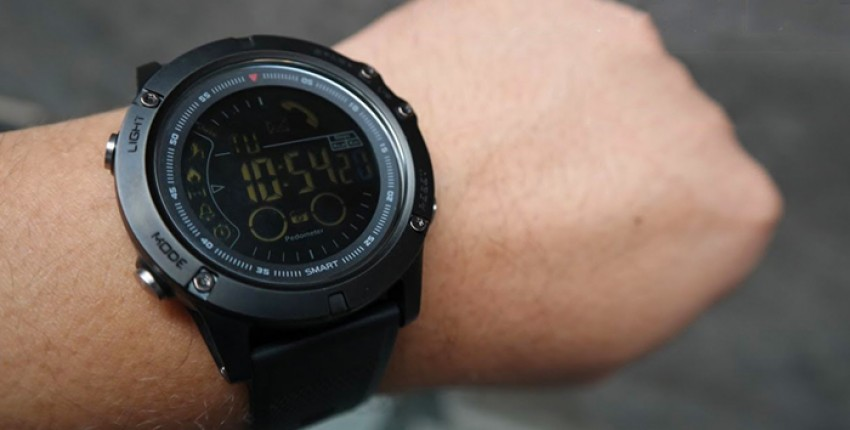 Smartwatch Zeblaze VIBE 3 Sports Smart Watch 33 Months Long Standby Man Watch For IOS And Android - comentários do cliente