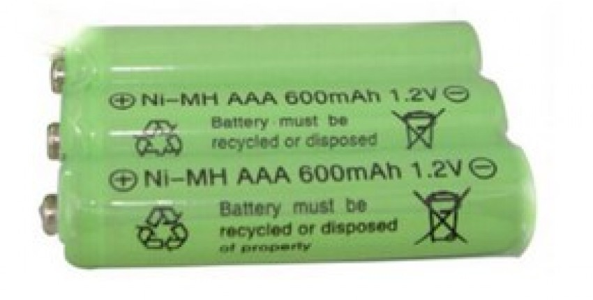 3psc/lot 1.2v 600mah AAA remote control toy rechargeable NI-MH rechargeable battery. - User's review