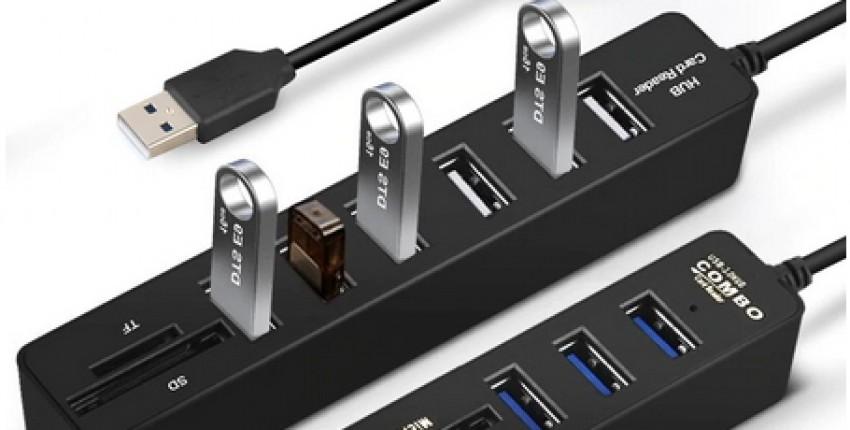 Концентратор USB 3.0 для ПК, USB-хаб - отзыв покупателя