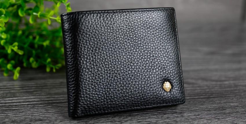 Мужское портмоне из натуральной кожи LAORENTOU - отзыв покупателя