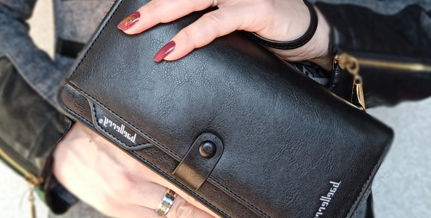 Практичный и вместительный кошелёк Baellerry - отзыв покупателя