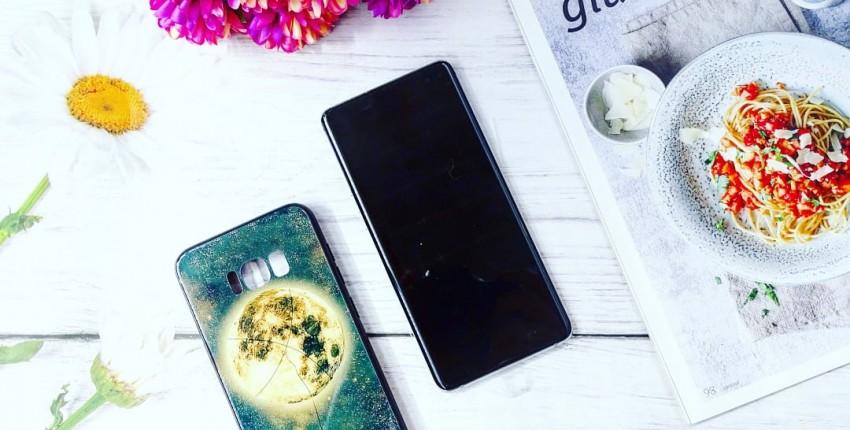 Чехол на Samsung из закалённого стекла - отзыв покупателя