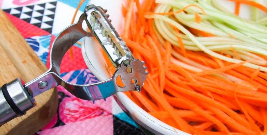 2 в 1 Овощечистка  нарезка овощей соломкой - отзыв покупателя