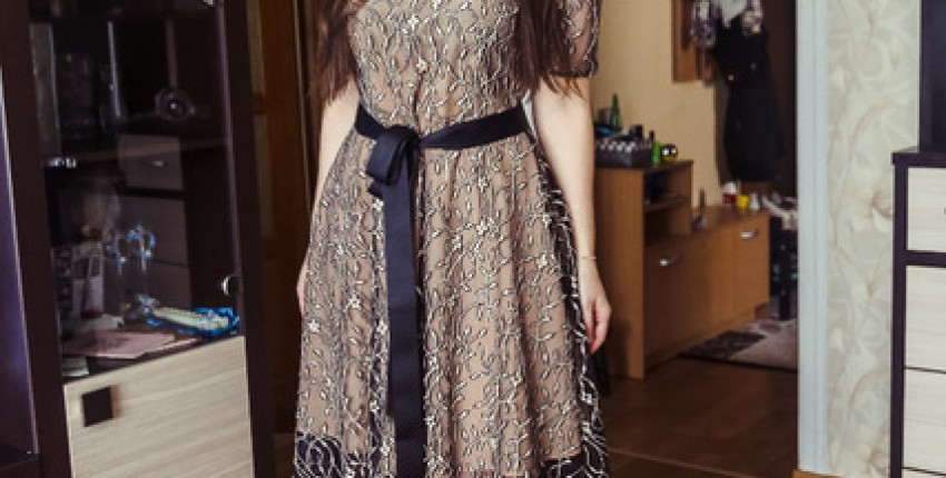 Нарядное кружевное платье - отзыв покупателя