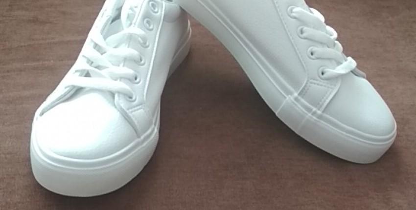 Замечательные белоснежные кеды - отзыв покупателя