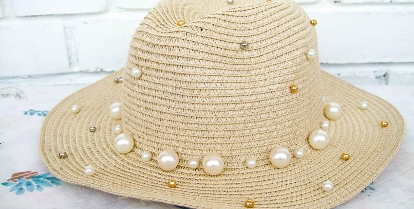 Шляпка с жемчужинами - отзыв покупателя