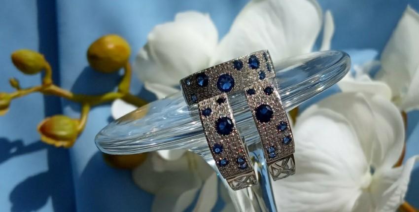 Изумительный комплект украшений из серебра с Алиэкспресс. - отзыв покупателя