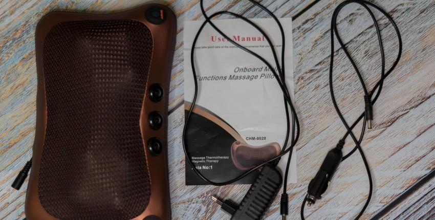 Электрический шиацу-массажер для шеи, спины, поясницы и всего тела - отзыв покупателя