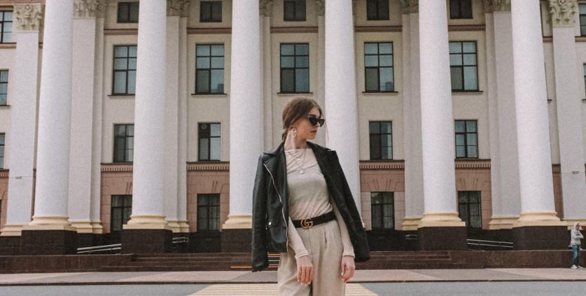 Стильные прямые брюки с Алиэкспресс - отзыв покупателя