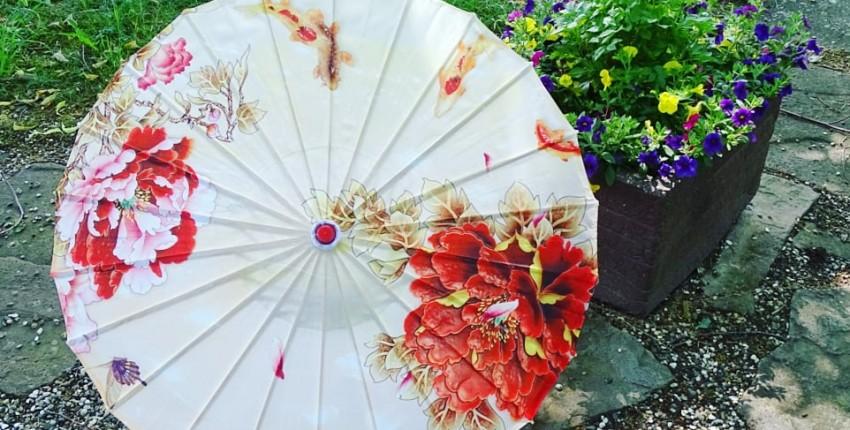 Потрясающей красоты зонт - отзыв покупателя
