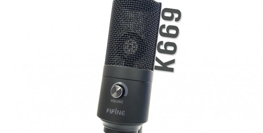 Микрофон FiFine K669 - отзыв покупателя