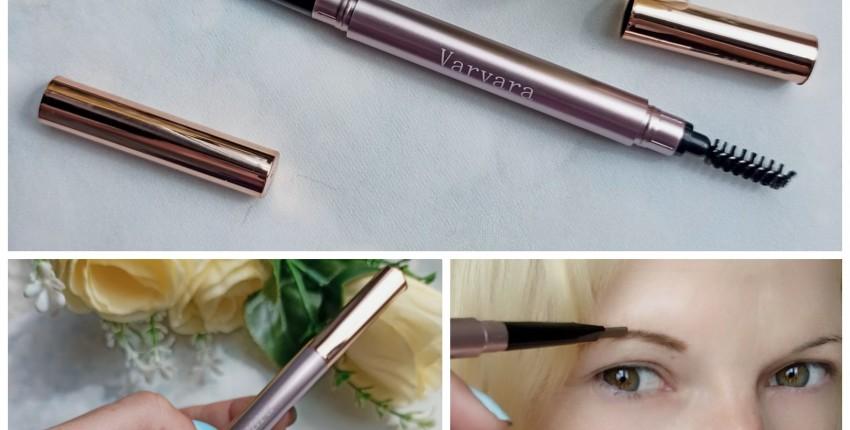 Обзор на карандаш для бровей от Varvara - отзыв покупателя