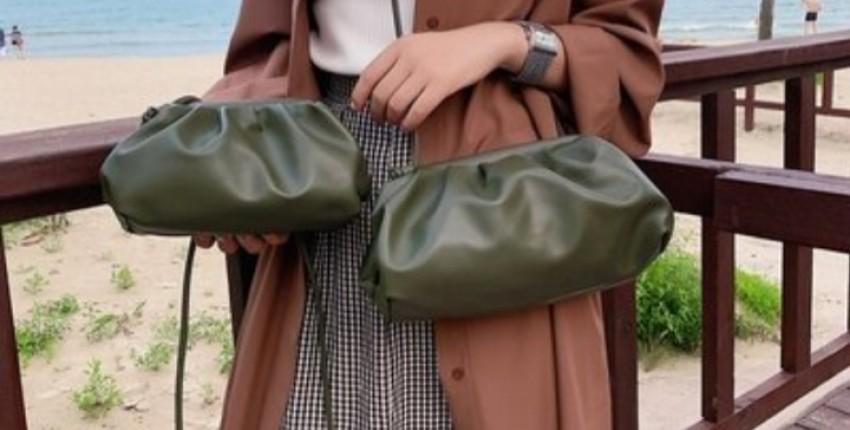 Прям как брендовая и дорогая сумка,прям Bottega Veneta - отзыв покупателя