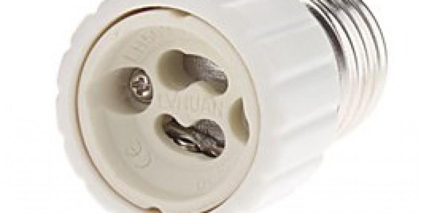 Adapter E27 To GU10 Bulb Light Socket. - User's review