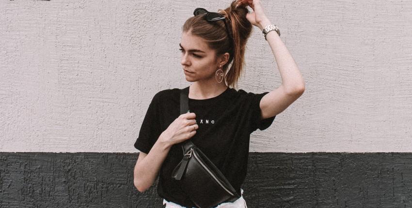 Черная лаконичная футболка с Алиэкспресс - отзыв покупателя