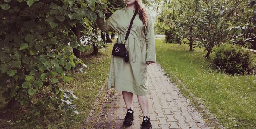 Любимое платье и весь образ целиком с Алиэкспресс. - отзыв покупателя