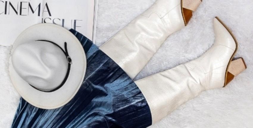 Те самые  лучшие белые сапоги - отзыв покупателя