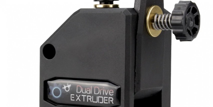 Dual Drive 3D printer Extruder - User's review