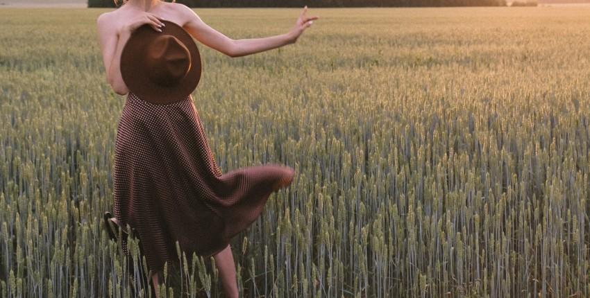 Атласная юбка в горошек для стильного лета - отзыв покупателя