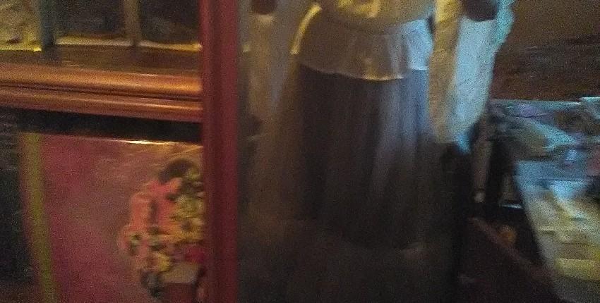 Белая шифоновая блуза с широкими рукавами и кружевом в венецианском стиле от LoliGals Lolita Store. - отзыв покупателя