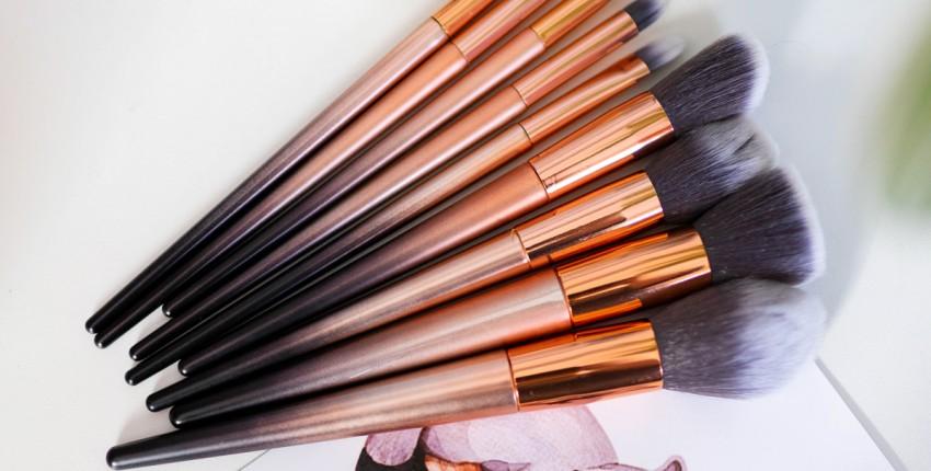 Кисточки для макияжа Золотой градиент - отзыв покупателя