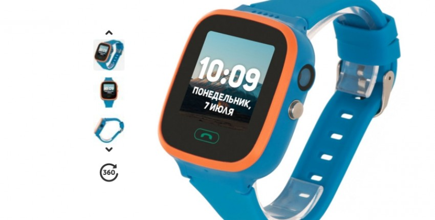 Ребенок под контролем! Часы с GPS-трекером Geozon Aqua Blue - отзыв покупателя