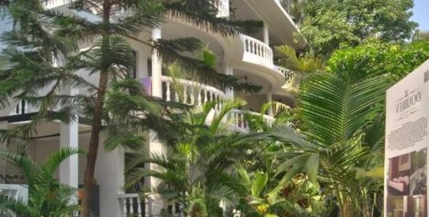 Индия Гоа, отель Double V Arambol тихое и уютное место в кипящем жизнью посёлке. - отзыв покупателя