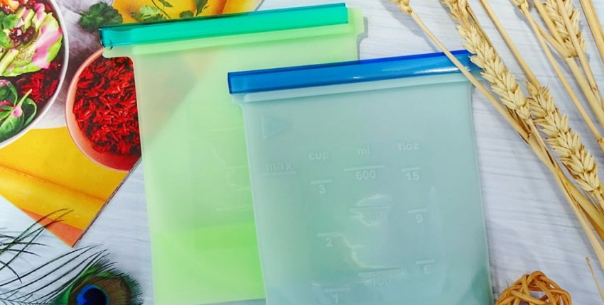 Отличные силиконовые пакеты для хранения. - отзыв покупателя
