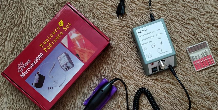 Аппарат для маникюра/педикюра MS. DEAR 11024 - отзыв покупателя