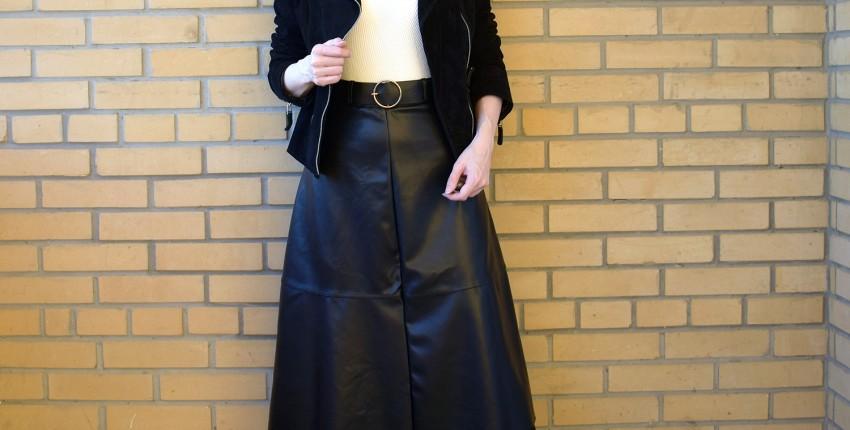 Кожаная юбка с AliExpress - отзыв покупателя