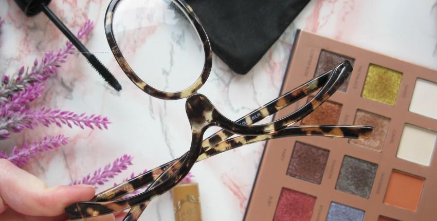 Как накраситься с дальнозоркостью? Очки для макияжа с АлиЭкспресс помогут в этом. - отзыв покупателя