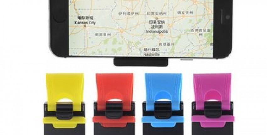 Car phone Holder Steering Wheel Mount Car Holder For Smart phone. - User's review