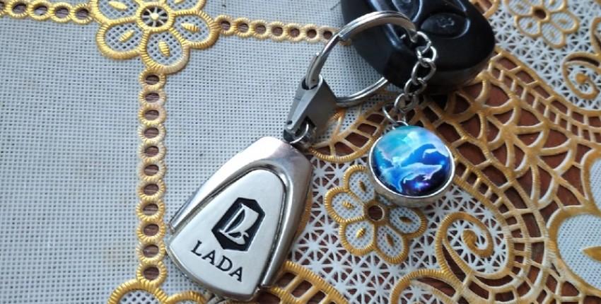 Красивый брелок для Lada - отзыв покупателя