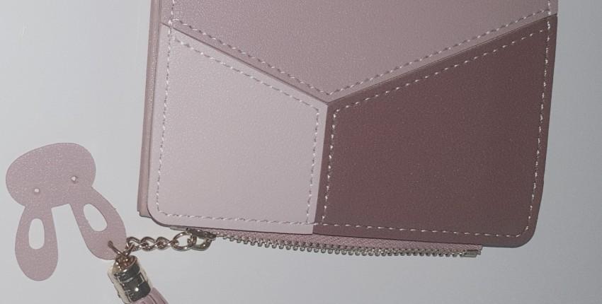 Маленький кошелек на молнии в стиле пэчворк бренда GEONYIEEK - отзыв покупателя