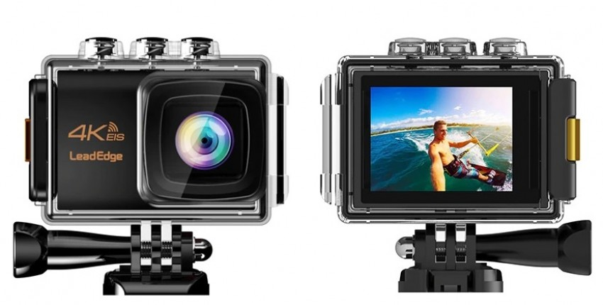 LeadEdge LE7000 Экшн-камера 4K 30FPS 20MP EIS внешний микрофон WiFi Водонепроницаемая камера - отзыв покупателя