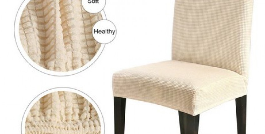 Chair Cover Polar Fleece 4Pc Fabric Thick Soft Slipcovers. - User's review