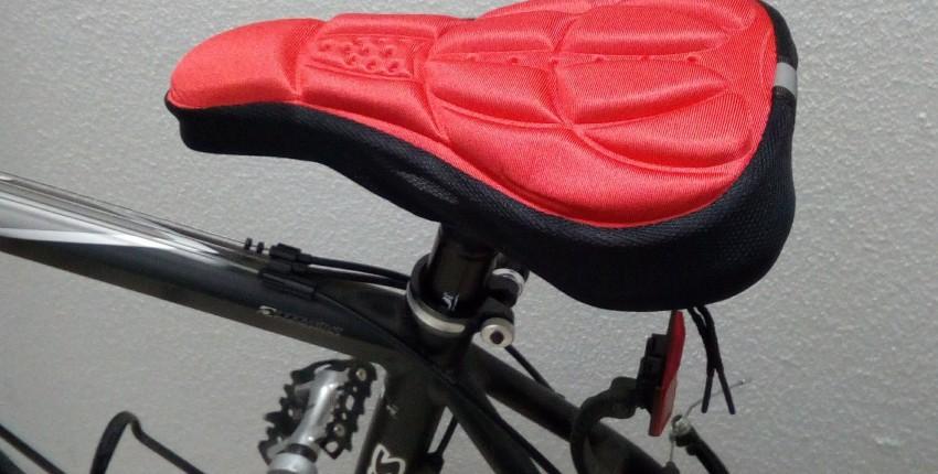 Накидка, чехол или накладка на велосипедное сидение - отзыв покупателя