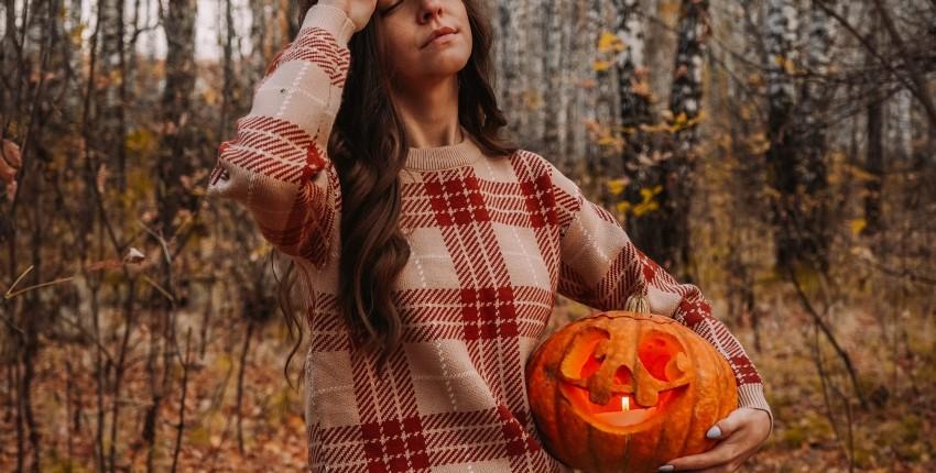 Классный свитер в клетку с осенним настроением - отзыв покупателя