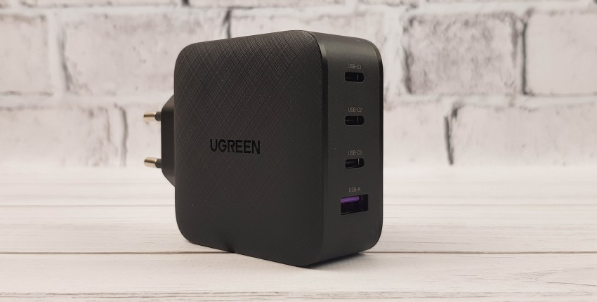 GаN-зарядка Ugreen на 65 Вт: быстро заряжаем ноутбуки, смартфоны и планшеты - отзыв покупателя