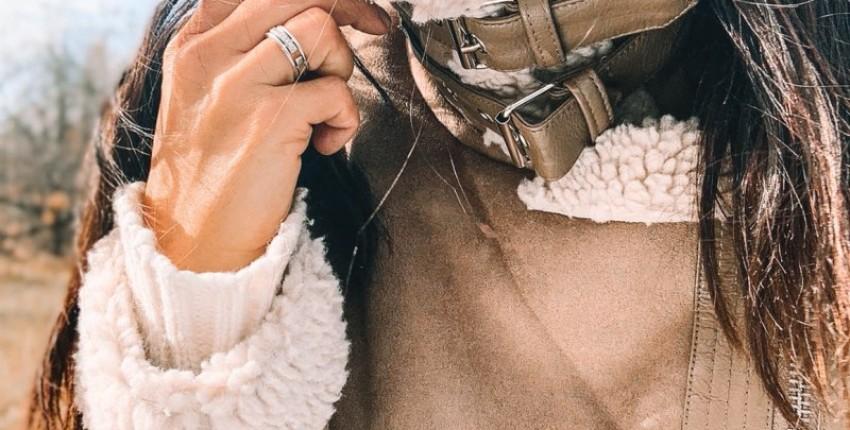 Женская теплая дубленка - косуха. - отзыв покупателя