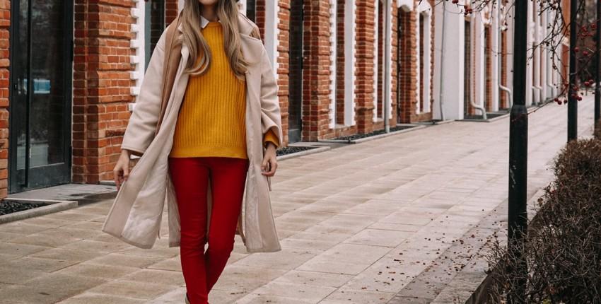 Теплый свитер для яркой осени с Алиэкспресс - отзыв покупателя