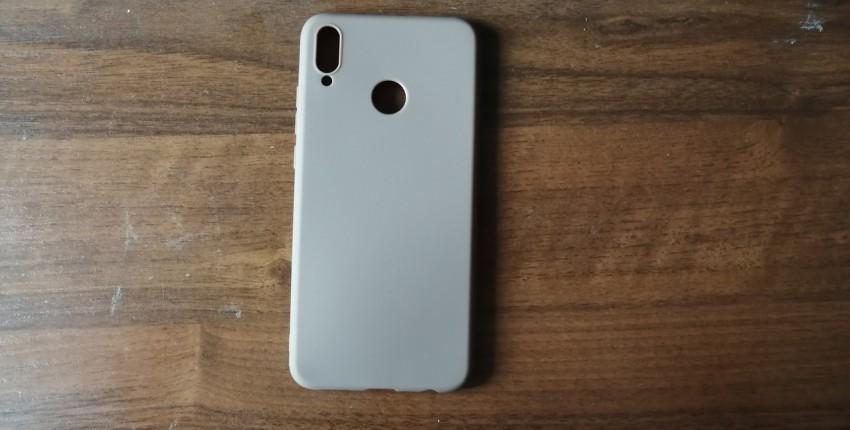 Матовый силиконовый чехол, Huawei Honor - отзыв покупателя