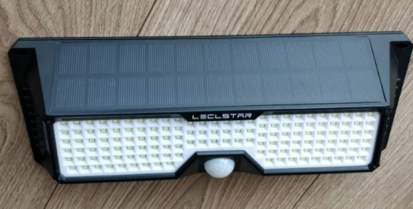 Very bright shining 268 LED Solar Lamp Motion Sensor Waterproof IP65 Outdoor. 3 lighting modes. - User's review