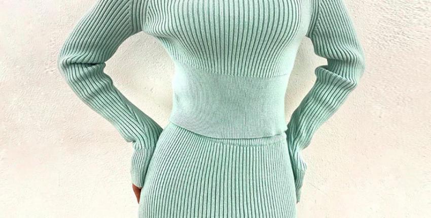 Трикотажные костюмы с Алиэкспресс: юбка и топ за 2124 рубля! - отзыв покупателя
