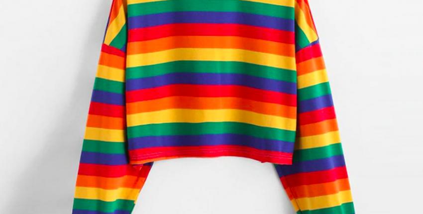 Крутые радужные свитера и другие находки с Алиэкспресс - отзыв покупателя
