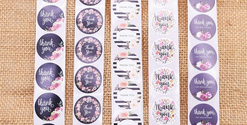 Наклейки для творчества, 500 штук: нашла классные наборы - отзыв покупателя