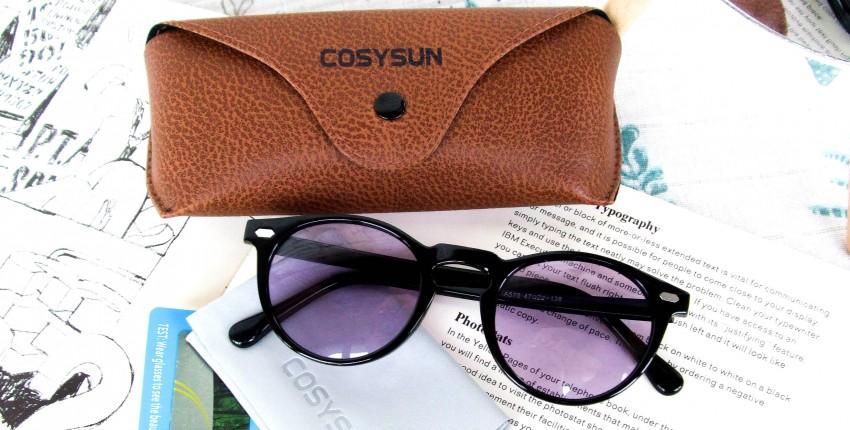 Женские поляризованные очки с фиолетовыми линзами - отзыв покупателя