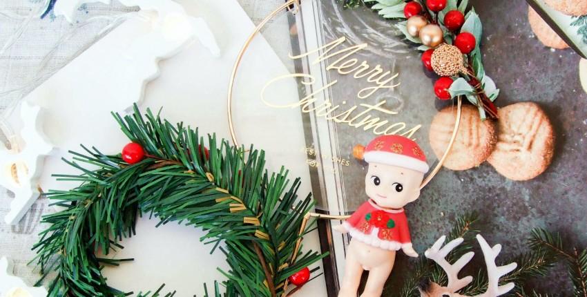 Новогодние украшения для торта с Алиэкспресс - отзыв покупателя
